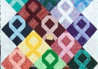 michele bilyeu creates with heart and hands free patterns Cool Cancer Ribbon Quilt Pattern Gallery