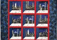 millennium cityscapes attic windows quilt favecrafts Cool Attic Windows Quilt Pattern Inspirations