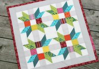 mini quilts an array of creatve patterns projects Interesting Miniature Quilt Block Patterns Inspirations
