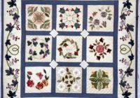 miniature baltimore album quilt quilts applique quilts Baltimore Album Quilt Patterns