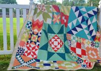 moda modern building blocks quilt finished grey dogwood Modern Building Blocks Quilt Pattern