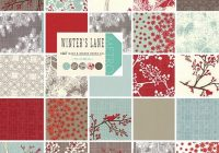 moda winters lane layer cake 10 precut cotton fabric Stylish Stylish Precut Quilting Fabric