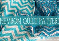 Modern 10 free rag quilt patterns tutorials for beginners 9 Cool Chevron Rag Quilt Pattern Inspirations