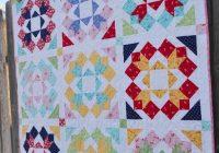 Modern 10 modern flower quilt patterns youll love 10 Interesting Flower Patchwork Quilt Patterns