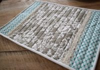 Modern 30 beautiful quilted placemats the funky stitch 11 Cozy Placemat Patterns Quilted Inspirations