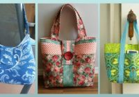 Modern 5 lovely diy tote bags carry everything in style quilting 9 Interesting Quilted Tote Bags Patterns
