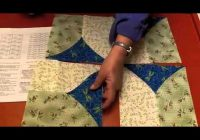Modern 5 minute block quilting Cozy 10 Minute Quilt Block Pattern