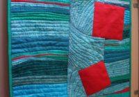 modern art quilts modern abstract art quilt wall hanging Modern Contemporary Art Quilt Patterns Inspirations