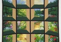 Modern attic window quilt pattern variations great way to break up 10 Stylish Attic Windows Quilt Patterns Inspirations
