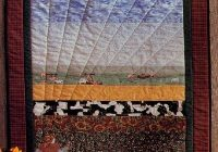Modern birds eye view quilted wall hanging pattern howstuffworks 11 Cool Patterns For Quilted Wall Hangings Gallery