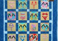 Modern blog patchwork posse quilts quilting crafts beach quilt Cool Beach Themed Quilt Patterns