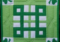 Modern celtic knot miniature quilt pdf pattern 11 Cool Celtic Knot Quilt Pattern