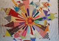 Modern circus dresden neighborhood cindy loring buckley 11 Interesting Dresden Plate Quilt Pattern Inspirations