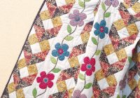 Modern daisy trellis quilt pattern download 9 Beautiful Garden Trellis Quilt Pattern Gallery