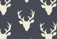 Modern deer fabric in navy buck forest twilight 11 Modern Deer Fabric For Quilting Inspirations