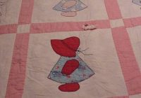 Modern dutch dolls and sunbonnet sues from the past girl quilts 11 Modern Little Dutch Girl Quilt Pattern
