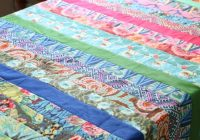 Modern easy beginner jelly roll quilt tutorial and pattern with video 11 Beautiful Quilt Patterns From Jelly Rolls