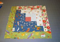 Modern easy log cabin quilt block pattern 9 Cool Log Cabin Quilting Pattern