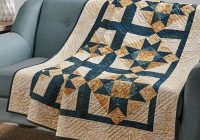 Modern exclusively annies quilt designs floating stars quilt Modern Most Popular Quilt Patterns Inspirations