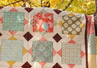 Modern fall o ween winners quilts big block quilts modern quilt 9 Stylish Quilt Patterns For Large Prints Gallery