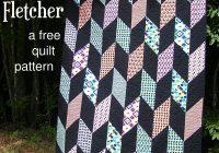 Modern fletcher a free chevron quilt pattern beginner quilt 11   Quilting Chevron Pattern Gallery