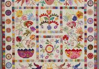 Modern flower pot from glorious color Interesting Kim Mclean Quilt Patterns