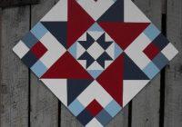 Modern friendship star pattern painted barn quilts barn quilt 10   Quilt Patterns For Barns Gallery