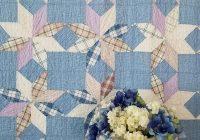 Modern gorgeous antique c1880 farm house blues antique star quilt 11 Unique Vintage Quilts On Ebay Gallery