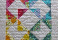 modern half square triangle sampler quilt craftbite Elegant Modern Half Square Triangle Quilts Gallery
