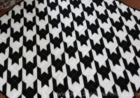 Modern houndstooth quilt inklings yarns Modern Houndstooth Quilt Pattern Inspirations