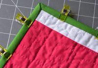 Modern how to get sharp precise mitered corners on your quilt 10 Beautiful Sewing Binding On Quilt Corners