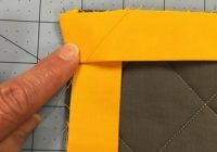 Modern how to make great binding corners apqs 10 Beautiful Sewing Binding On Quilt Corners