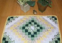 Modern how to make the around the world quilt pattern how to make 11 Cool Quilt Patterns For Placemats Inspirations