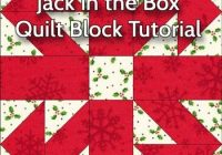 Modern jack in the box quilt block illustrated step step 10   Generations Quilt Patterns Gallery
