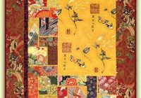Modern japanese quilts japanese quilt patterns asian quilts 10   Quilt Patterns For Large Print Fabrics Inspiration Inspirations