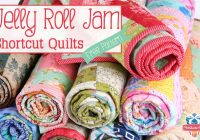 Modern jelly roll jam free quilt pattern the jolly jabber 11 New Jellyroll Quilt Patterns Inspirations