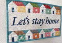 Modern lets stay home sewing instructions for a mini quilt part 11 Cool Sew Let'S Quilt It Inspirations