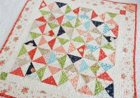 Modern moda summer charm swap table topper quilt quilting a Modern Charm Pack Quilt Patterns Moda Gallery
