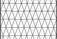 Modern modern ombre bw triangle quilt tutorial pattern see Elegant Triangle Quilt Template
