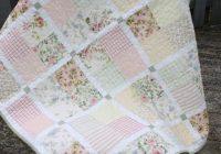 Modern modern vintage ba or lap quilt pastel vintage sheets and Cool Modern Vintage Quilts