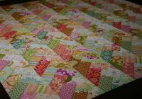 Modern not so fancy nancy braid quilt quilts patchwork quilting 9 Stylish Friendship Braid Quilt