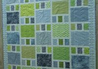 modern patchwork quilt made with cotton fabrics in shades of Modern Patchwork Quilt Patterns Inspirations