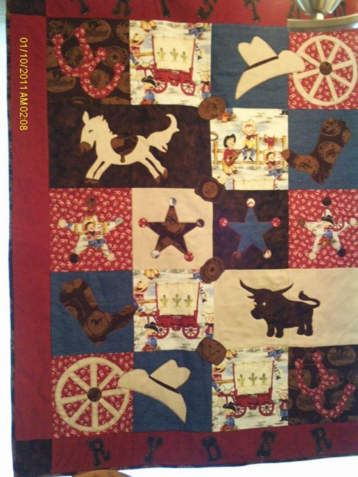Permalink to 10 Cool Western Themed Quilt Patterns