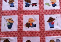 Modern pin cindy scruggs young on quilting quilts boys quilt 10 Cozy Sunbonnet Sam Quilt Pattern Gallery