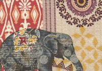 Modern pin terry chamberlin on painted fabric elephant art 10 Beautiful Quilting Fabric Elephant Print Ideas Gallery