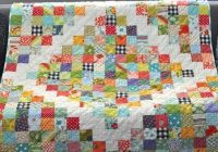 Modern potluck quilt pattern great little quilt to use up left over 10 Modern Patchwork Square Quilt Patterns Inspirations
