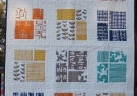 modern quilt geometric print quilting contemporary Cool Contemporary Quilting Patterns