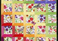 Modern quilt inspiration free pattern day attic windows quilts 11 Elegant Michael Miller Quilt Patterns Inspirations