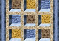 Modern quilt inspiration free pattern day attic windows quilts 11 Stylish Attic Window Quilt Patterns