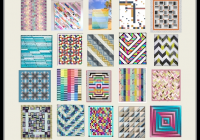 Modern quilt inspiration free pattern day jelly roll quilts part 11 New Patterns For Jelly Roll Quilts